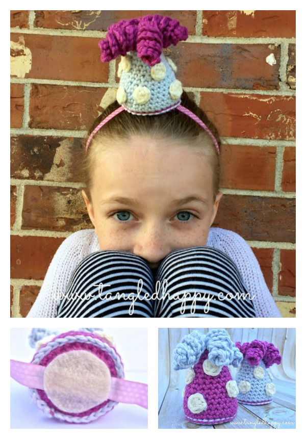 Party Hat Free Crochet Pattern