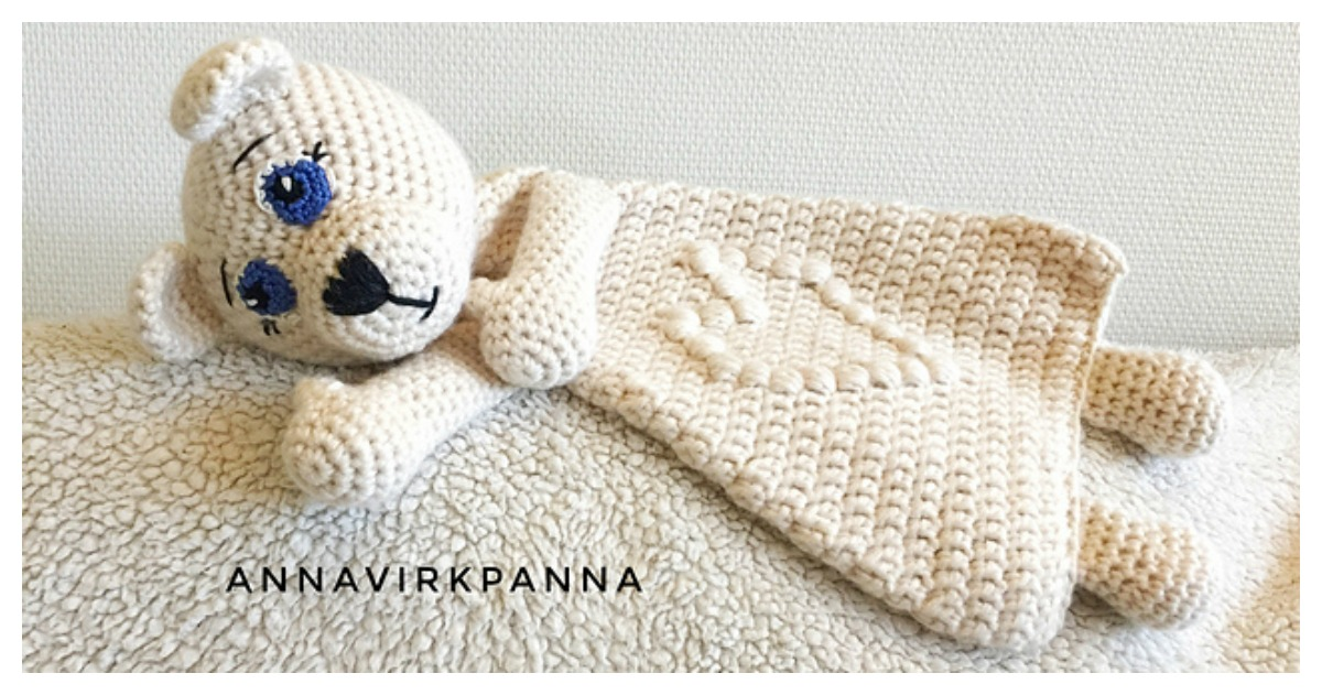 Adorable Polar Bear Ragdoll Free Crochet Pattern