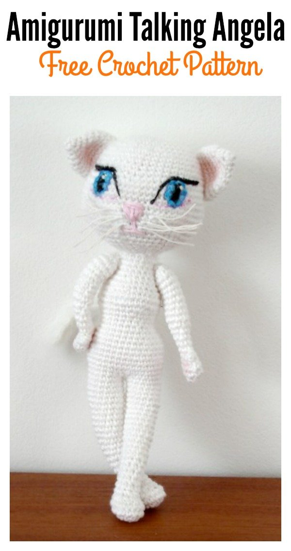 Amigurumi Talking Angela Free Crochet Pattern