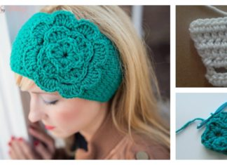 Easiest Headband Free Crochet Pattern
