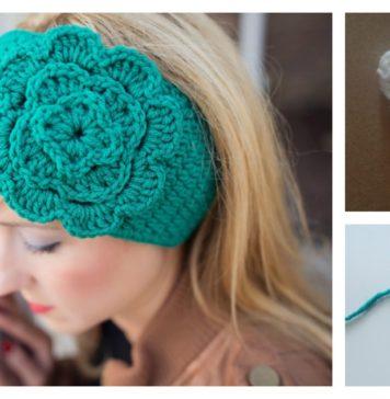 Easiest Headband Free Crochet Pattern