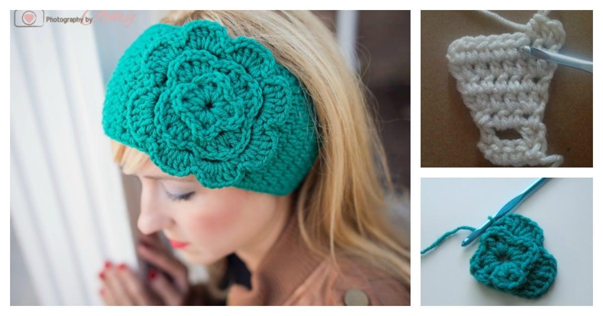 Easiest headband free crochet pattern dt1010fo