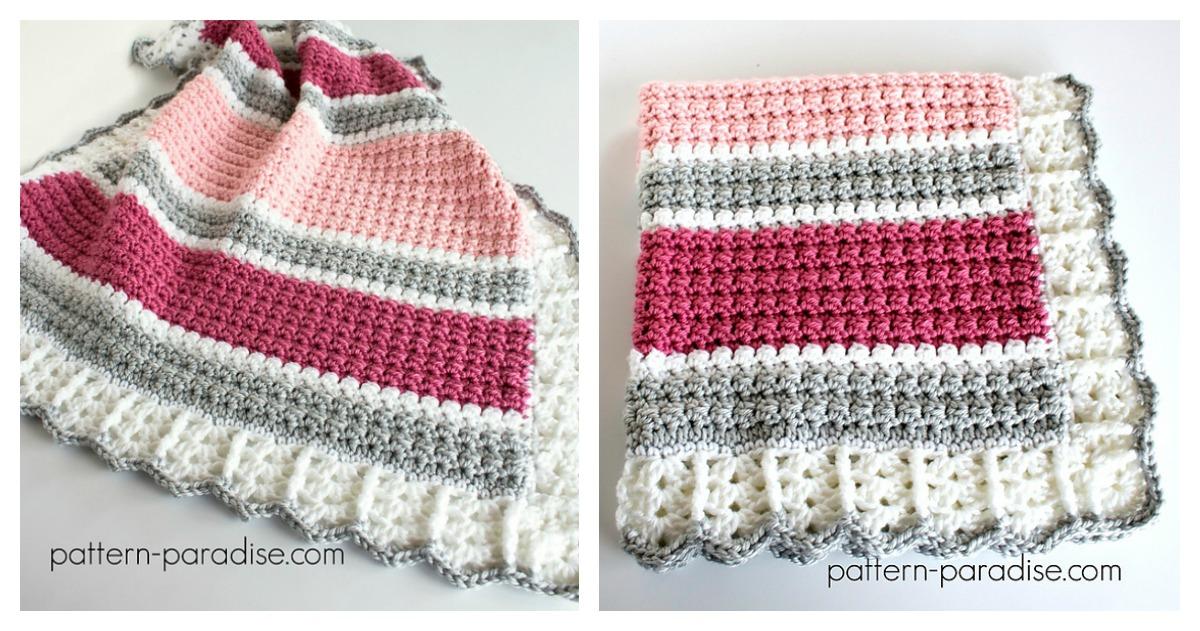 Essentials Baby Blanket Free Crochet Pattern