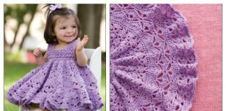 Frilly Baby Dress Crochet Pattern