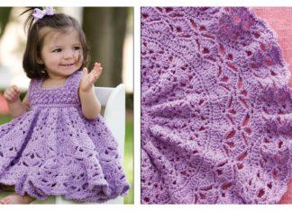 Frilly Baby Dress Crochet Pattern