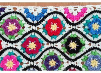 Moroccan Garden Free Crochet Pattern