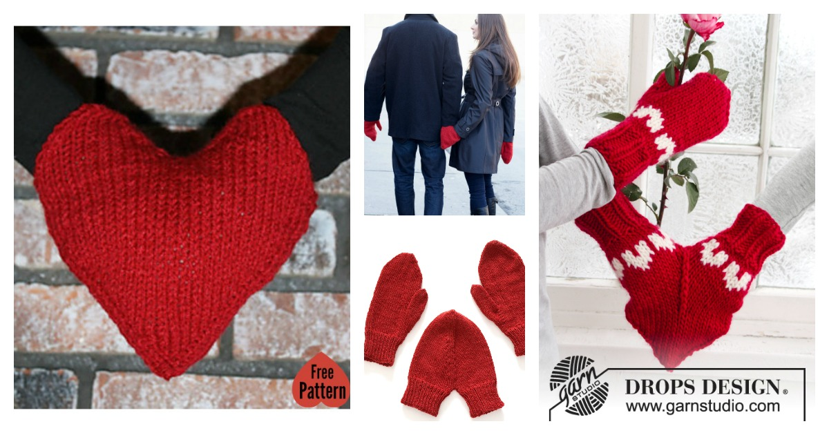 smitten hand holding love mitten free knitting pattern