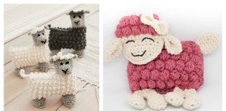 Sweet Bubble Stitch Ragdoll Lamb Free Crochet Pattern