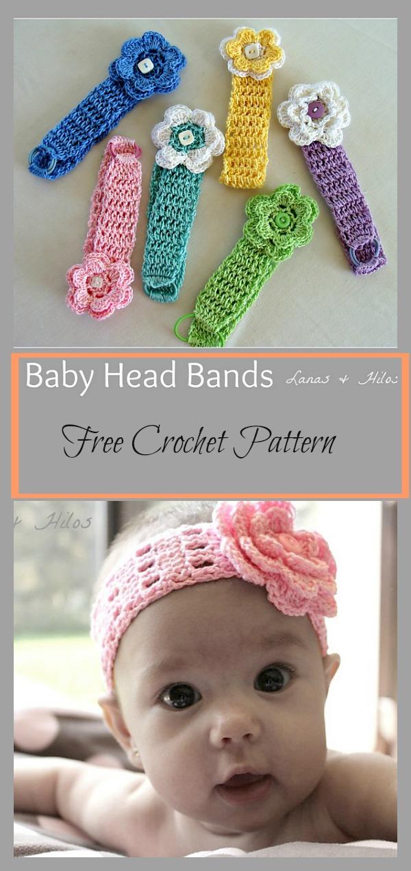 Headbands free crochet pattern baby headbands free crochet pattern dt1010fo