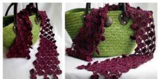 Heart Chain Scarf Free Crochet Pattern