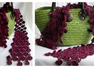 Heart Chain Scarf Free Crochet Pattern