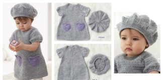 I Heart My Dress Set Free Crochet Pattern
