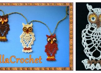 Pineapple Stitch Owl Free Crochet Pattern