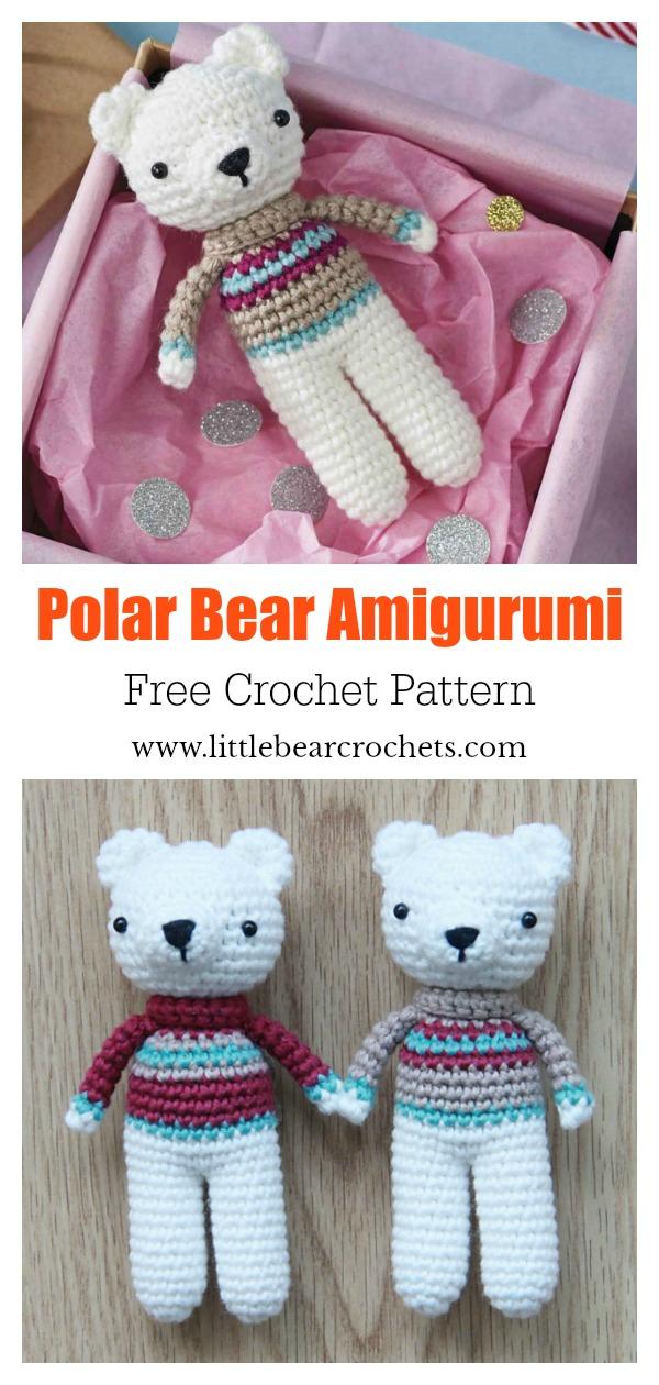 Amour Fou | Crochet }: { Leopold, the Polar Bear... } | 1260x600