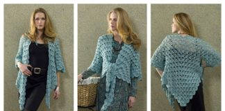 Zen Lace Jacket Free Crochet Pattern