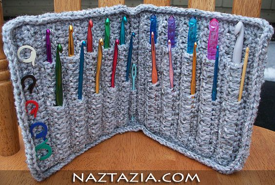 Crochet Hook Case Free Crochet Pattern