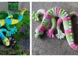 Adorable Gecko Amigurumi Free Crochet Pattern