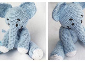 Amigurumi Elephant Free Crochet Pattern