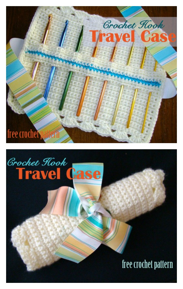 Crochet Hook Travel Case Free Crochet Pattern