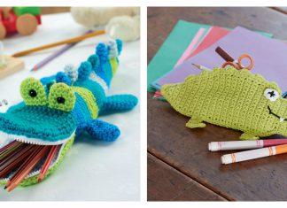 Fun Pencil Case Free Crochet Pattern