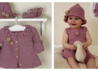 Little Miss Berry Set Free Crochet Pattern