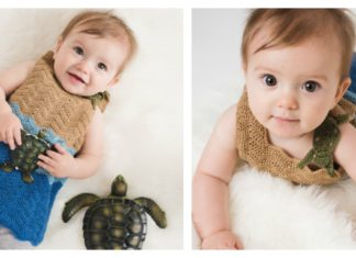 Sea Turtle Baby Tank Free Crochet Pattern