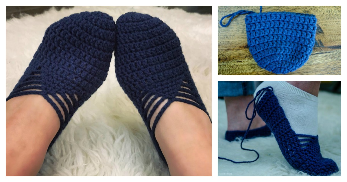 5c5825c7808f Sunday Ballet Slippers Free Crochet Pattern and Video Tutorial