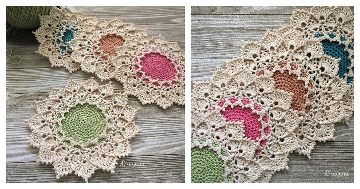 Sunmote Doily Free Crochet Pattern