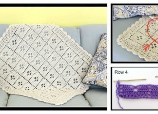 The Midwife Afghan Baby Blanket Free Crochet Pattern