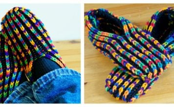 Uberib Slippers Free Knitting Pattern