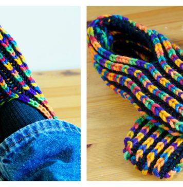 Uberib Slippers Free Knitting Pattern