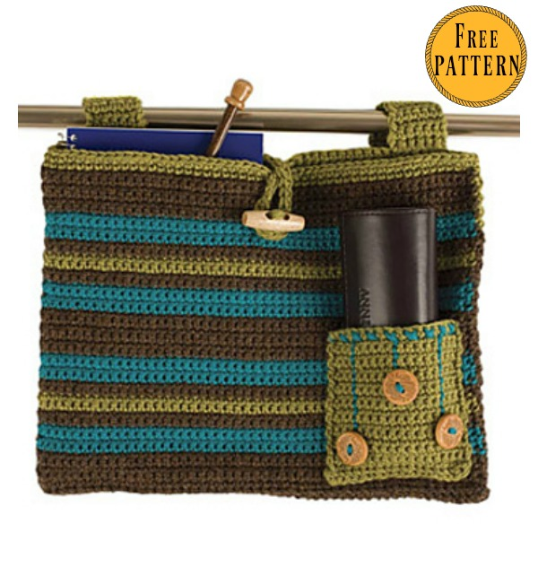 Walker Bag Free Crochet Pattern