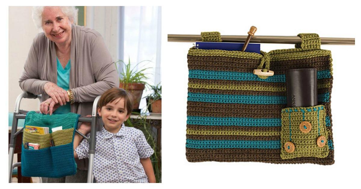 Walker Bag Free Crochet Pattern