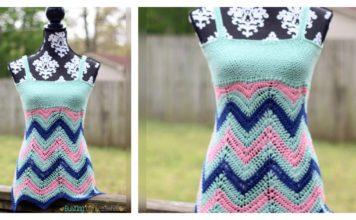 Women's Chevron Tank Top Free Crochet Pattern