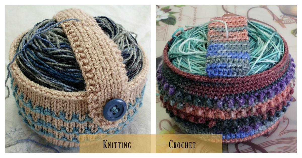 Knitting Wool Holder Hobbycraft : Yarn cozy holder free knitting pattern