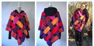 Celtic Poncho Free Crochet Pattern
