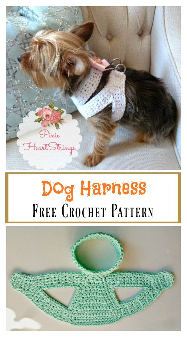Dog Harness Free Crochet Pattern dog harness free crochet pattern