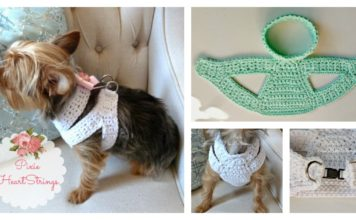 Dog Harness Free Crochet Pattern