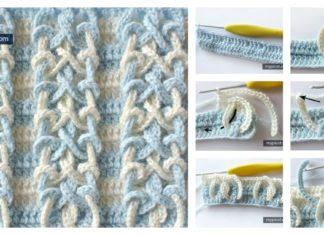 Double Knot Stitch Free Crochet Pattern