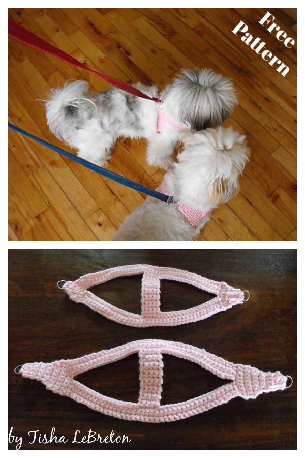 Easy Dog Harness Free Crochet Pattern