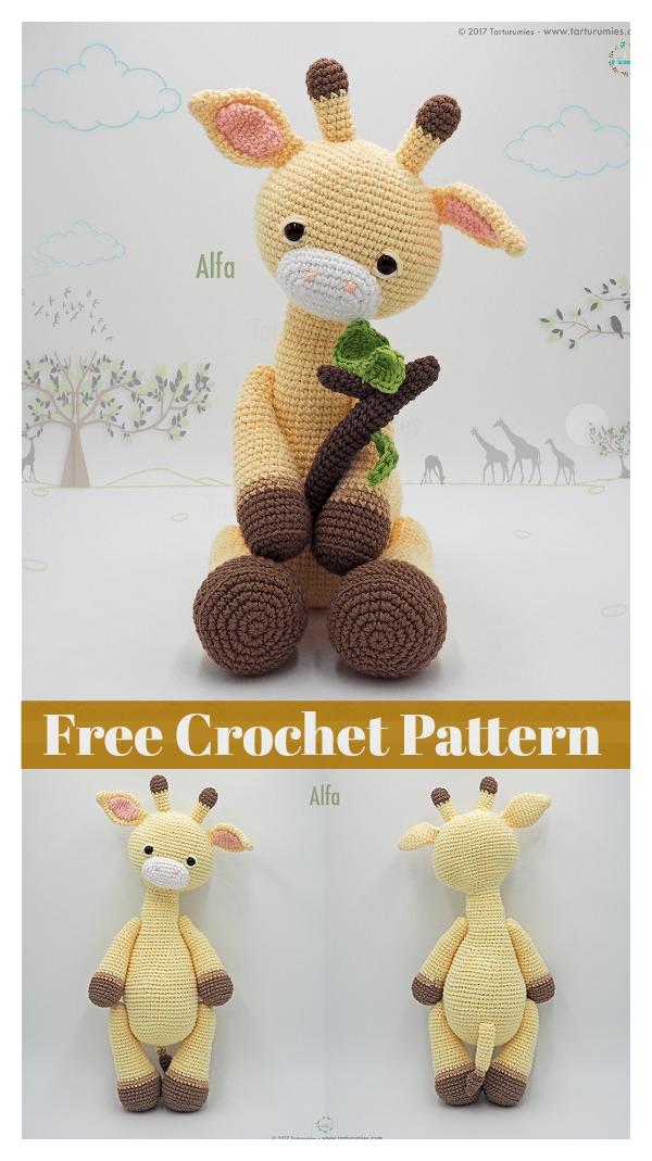 Ravelry: Baby Giraffe Amigurumi pattern by Courtney Deley | 1069x600