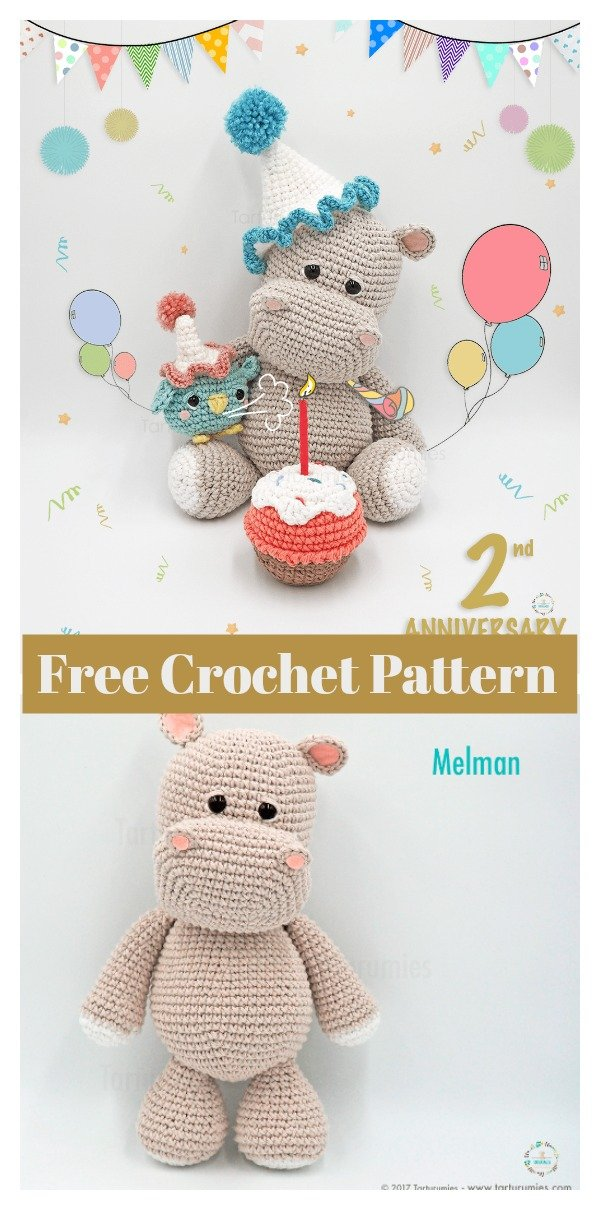 Amigurumi Giraffe Free Crochet Pattern - Crochet.msa.plus | 1210x600