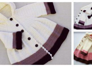 How to Crochet Girl's Coat Easily