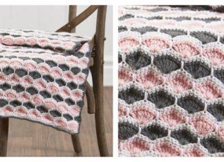 Josephine Shell Stitch Baby Blanket Free Crochet Pattern