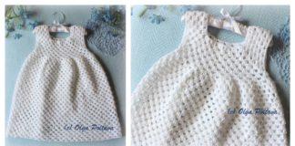 Simple Granny Stitch Baby Dress Free Crochet Pattern