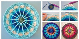 Spoke Mandala Free Crochet Pattern