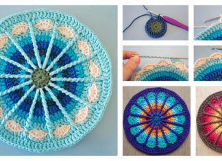 Spoke Mandala Free Crochet Pattern