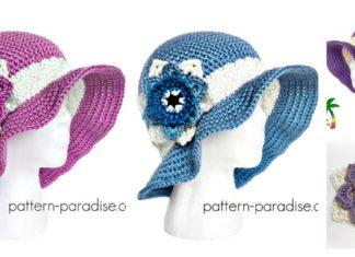 Summer Joy Sun Hat Free Crochet Pattern