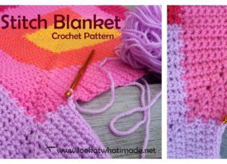 Ten Stitch Blanket Free Crochet Pattern