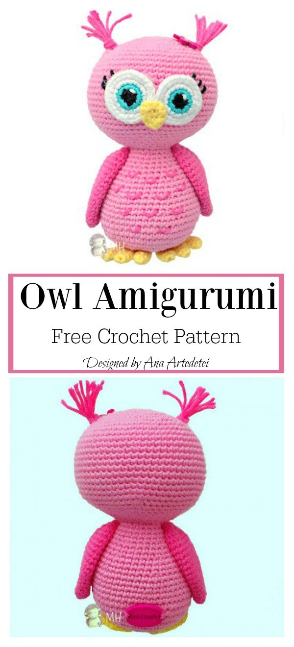 Adorable Owl Amigurumi Free Crochet Pattern